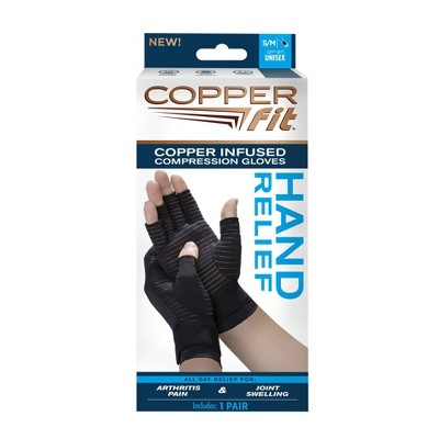 Copper Fit Hand Relief Gloves - S/M
