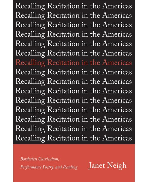 Recalling Recitation in the Americas : Borderless Curriculum, Performance Poetry, and Reading - image 1 of 1