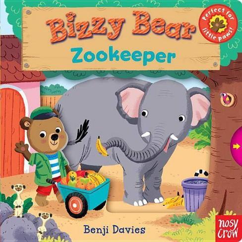 Bizzy Bear: Zookeeper - (Board_book) - image 1 of 1