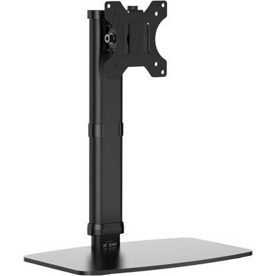 """Tripp Lite Single-Display Monitor Stand - Height Adjustable, 17"""" to 27"""" Monitors - Up to 27"""" Screen Support - 13.23 lb Load Capacity"""
