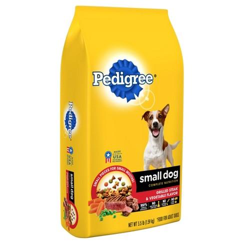 Pedigree Small Dog Steak Vegetable Dry Dog Target