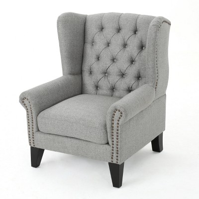 Laird Traditional Winged Accent Chair - Christopher Knight Home
