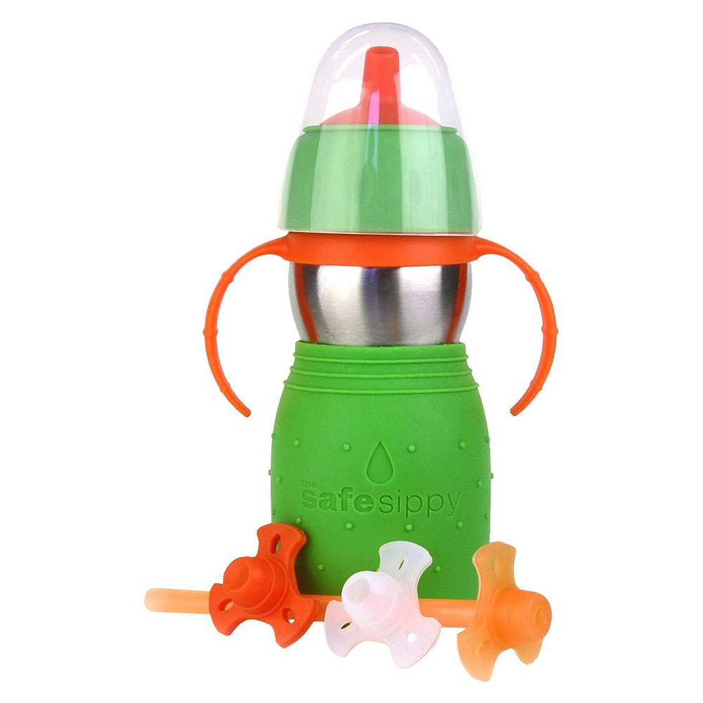 Image of Kid Basix Safe Sippy2 Green