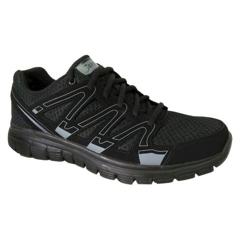 b451cc20a1c94 Men s S Sport By Skechers Striker Performance Athletic Shoes - Black ...