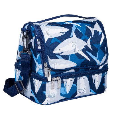 Wildkin Sharks Two Compartment Lunch Bag