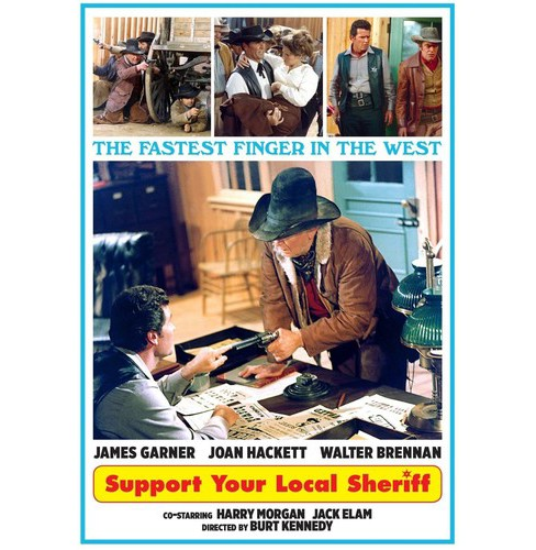 Support your local sheriff (DVD) - image 1 of 1