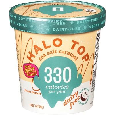Halo Top Dairy-Free Sea Salt Caramel Frozen Dessert - 16oz