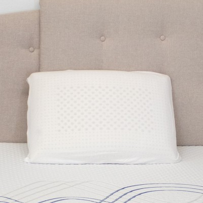 eLuxury Natural Latex Foam Pillow, 2 Pack
