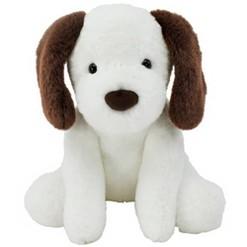 Animal Adventure Dolly Dog - White