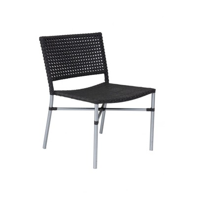Aldric Outdoor Dining Chair Dark Chocolate - East At Main