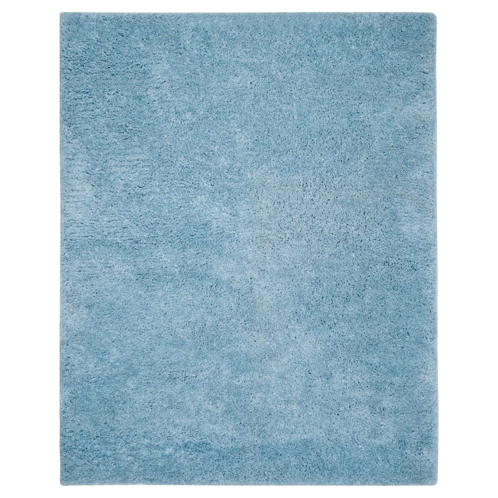 Supreme Shag Rug - Light Blue - (8'X10') - Safavieh
