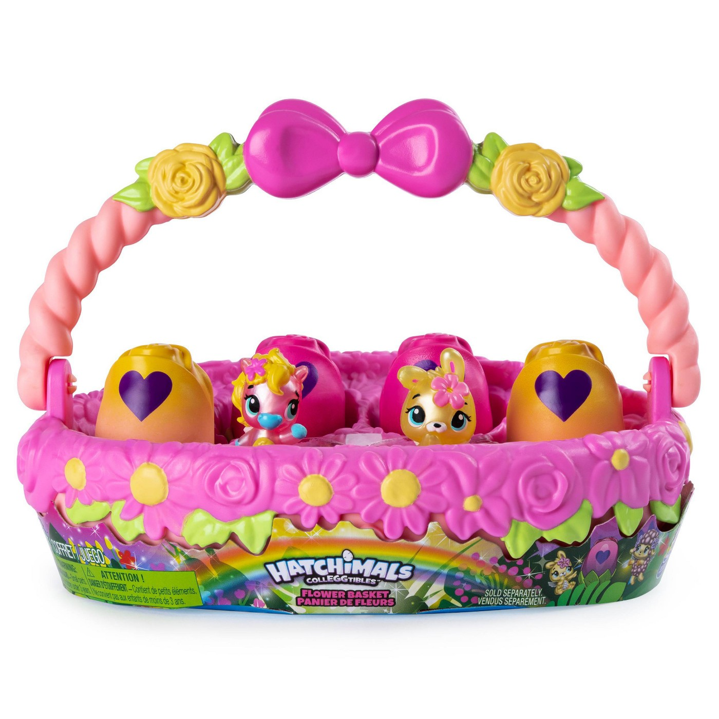 Hatchimals CollEGGtibles - Spring Basket with 6 Hatchimals CollEGGtibles - image 1 of 8