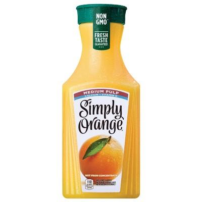 Simply Orange Medium Pulp with Calcium & Vitamin D Juice - 52 fl oz