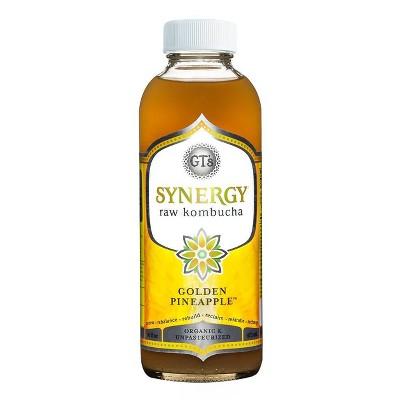GT's Synergy Organic Golden Pineapple Raw Kombucha - 16 fl oz