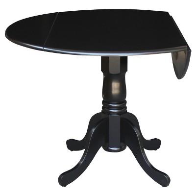 "Mason 42"" Round Dual Drop Leaf Table - International Concepts : Target"