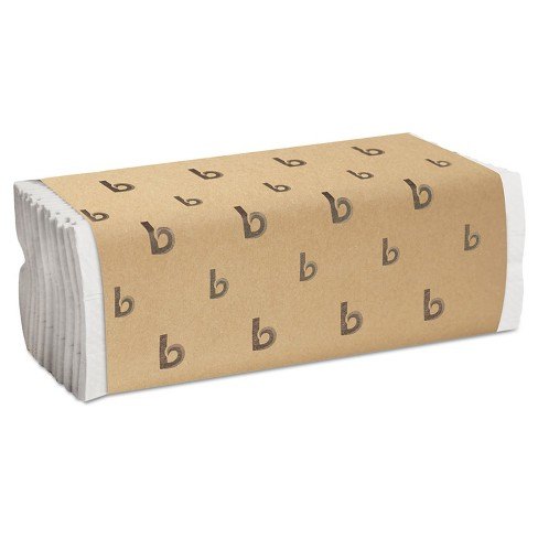 Boardwalk White C-Fold Paper Towels - 12 Rolls / 200ct - image 1 of 1