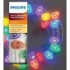 Philips Da de Muertos Sugar Skull LED Dew Drop String Lights - image 2 of 4