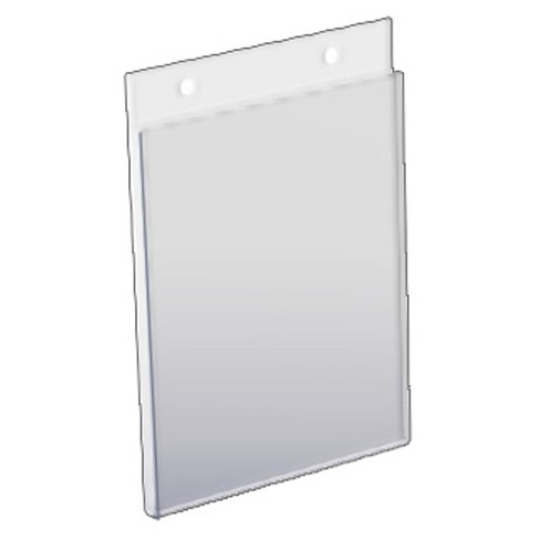 "Azar 5"" x 7"" Wall U-Frame Acrylic Sign Holder 10ct - image 1 of 1"