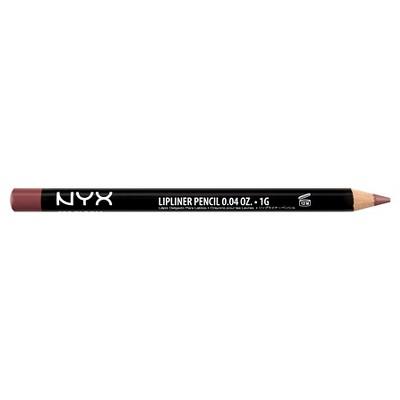 NYX Professional Makeup Long-lasting Slim Lip Pencil - Creamy Lip Liner - 0.04oz