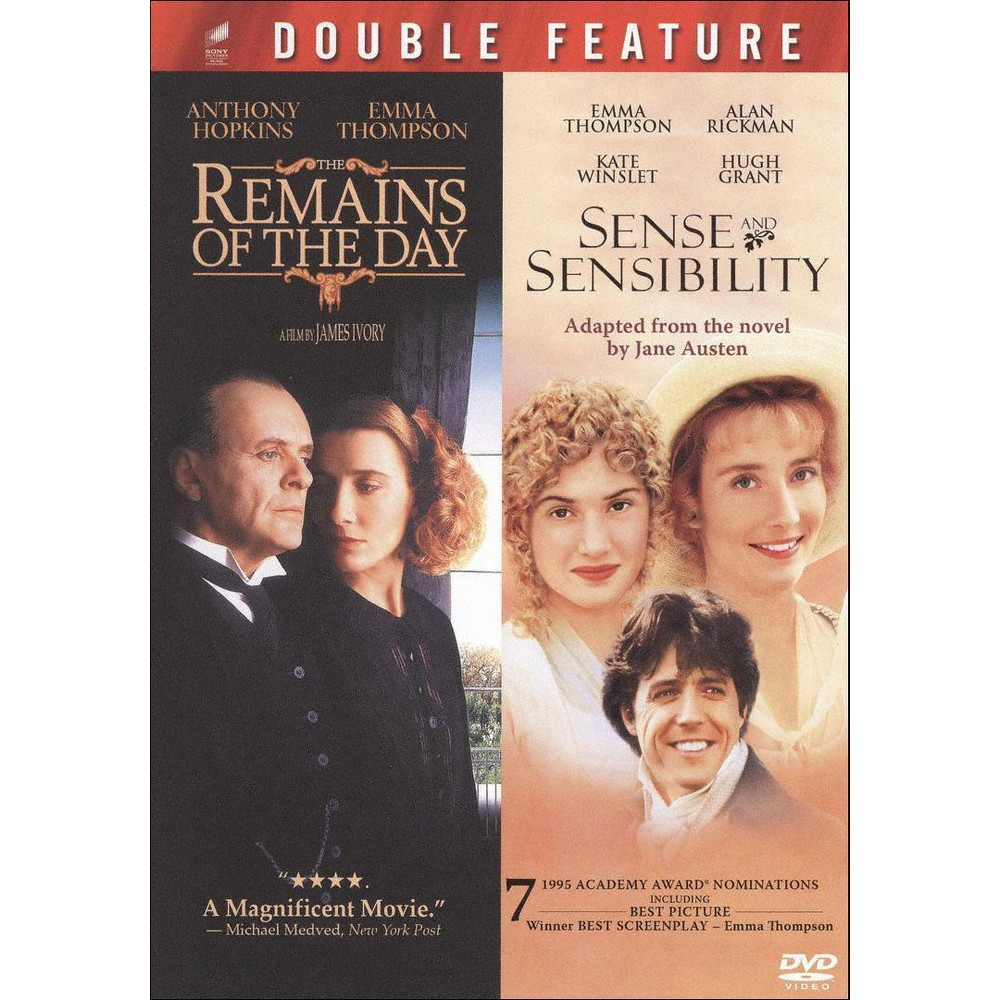 Remains Of The Day (Se)/Sense & Sensi (Dvd)