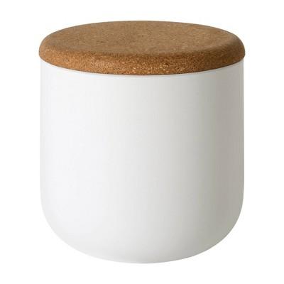 Beringer Cotton Ball Jar White - Allure Home Creations