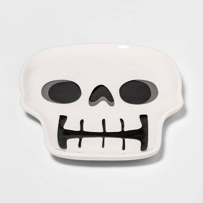 Ceramic Skull Halloween Serving Platter - Hyde & EEK! Boutique™