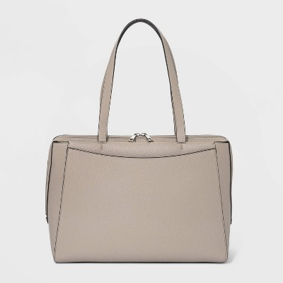 Triple Compartment Tote Handbag - A New Day™
