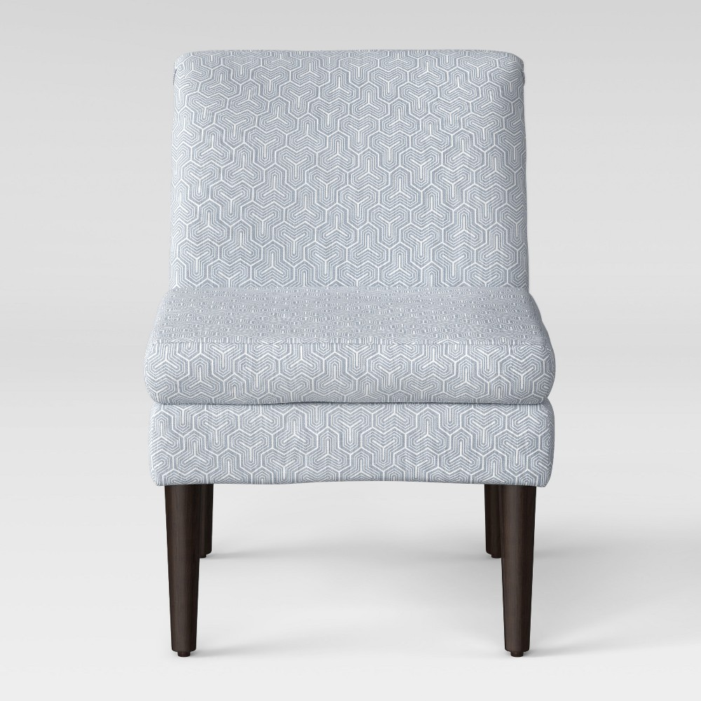 Winnetka Modern Slipper Chair Light Gray - Project 62