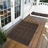 Brown Solid Doormat - (2'X3') - HomeTrax - image 2 of 4