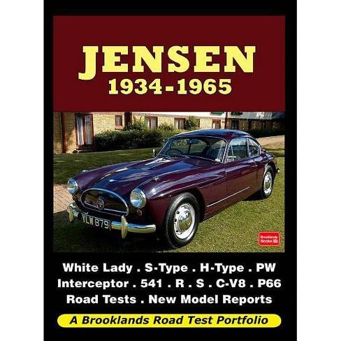 Jensen, 1934-1965 - (Road Test Portfolio) by  R M Clarke (Paperback) - image 1 of 1