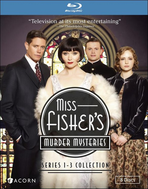 Miss fisher's murder mysteries:1-3 co (Blu-ray) - image 1 of 1