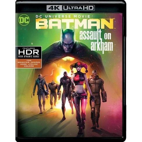 Dcu Batman Assault On Arkham 4k Uhd Target