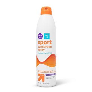 Sport Sunscreen Spray - SPF 15 - 9.1oz - Up&Up™