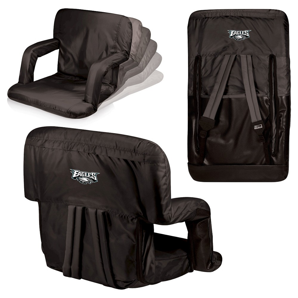 Philadelphia Eagles Ventura Seat Portable Recliner Chair By Picnic Time