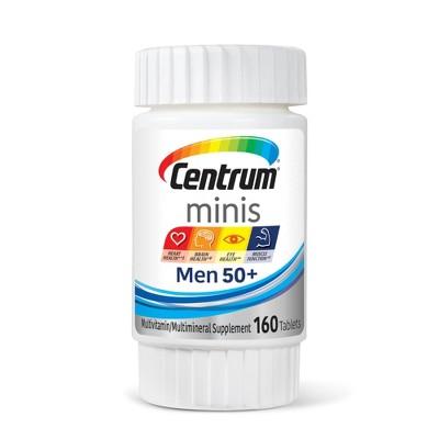 Centrum Mini's Men 50+ Tablet - 160ct
