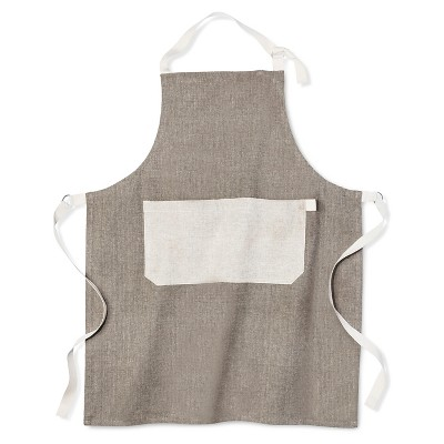 Gray Solid Cooking Apron - Threshold™