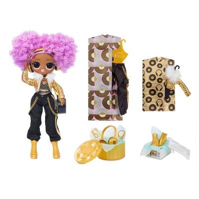 L.O.L. Surprise! O.M.G. 24K D.J. Fashion Doll with 20 Surprises