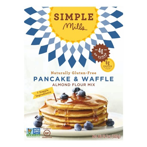 Simple Mills Gluten Free Pancake & Waffle Almond Flour Mix 10.7 oz - image 1 of 5