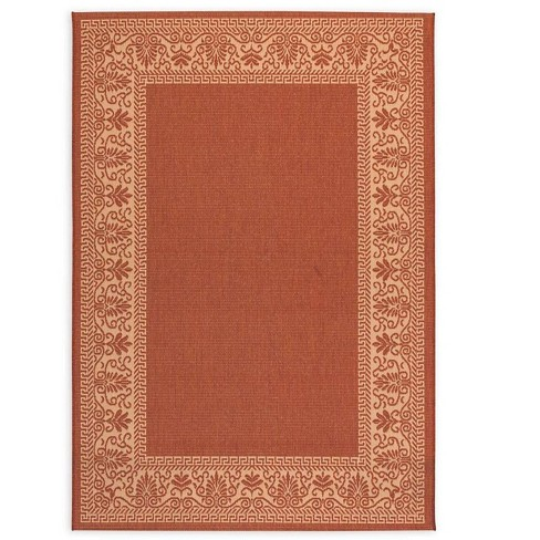 All-Weather Veranda Border Indoor / Outdoor Rug - Plow & Hearth - image 1 of 1
