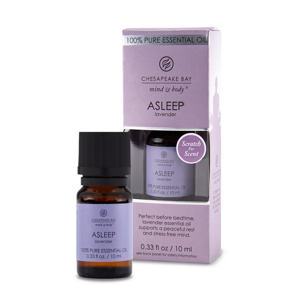 0.33oz Essential Oil Asleep Lavender - Chesapeake Bay Candle, Blue