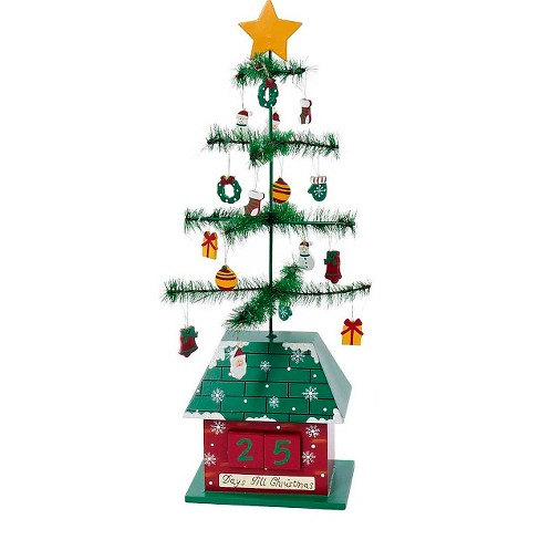 Christmas Tree Calendar with Ornaments - image 1 of 1