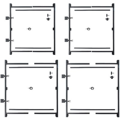 "Adjust-A-Gate Build Kit, 60""-96""(2 Pack) w/ Gate Building Kit, 36""-60"" (2 Pack)"