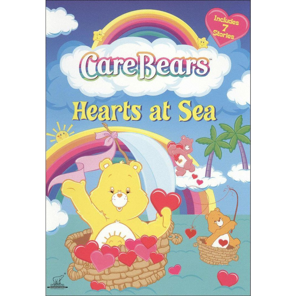 Care Bears: Hearts at Sea (With 3 Valentine's Day Cards) (dvd_video)