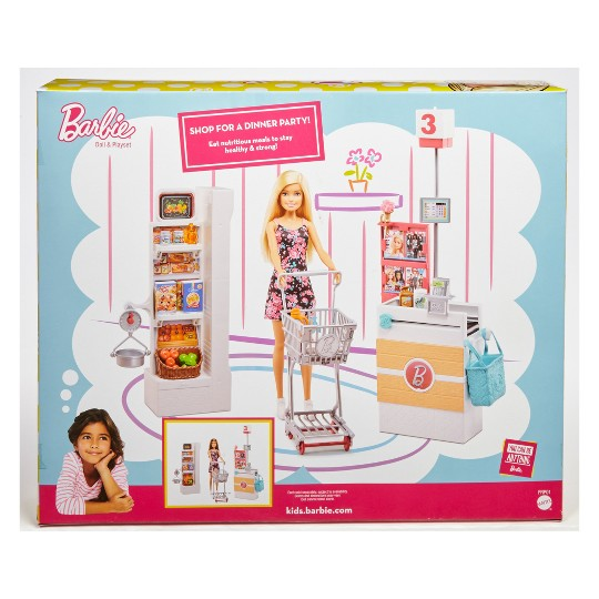 Barbie Supermarket Playset image number null