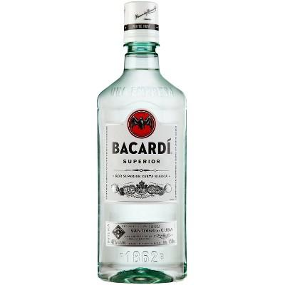 Bacardi Superior Rum - 750ml Plastic Bottle