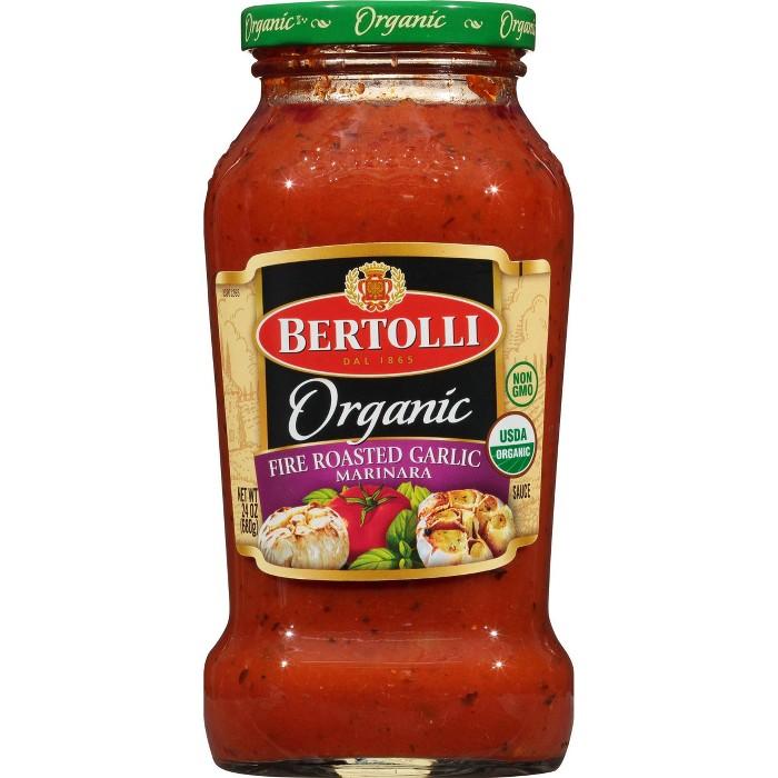 Bertolli Organic Fire Roasted Garlic Marinara Pasta Sauce - 24oz - image 1 of 4