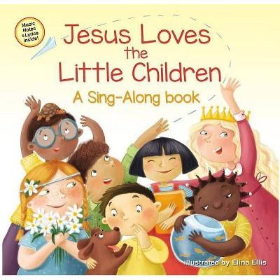 Jesus Loves the Little Children - (Sing-Along Book)by Zondervan (Board Book)