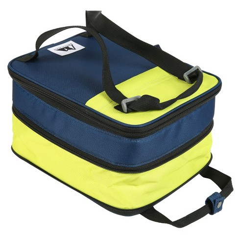 Arctic Zone Expandable Lunch Pack - Blue/Green - image 1 of 2