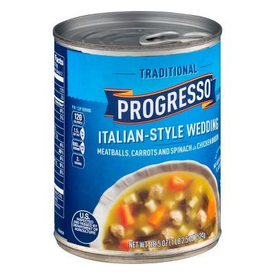 Progresso Traditional Italian-Style Wedding Soup 18.5oz