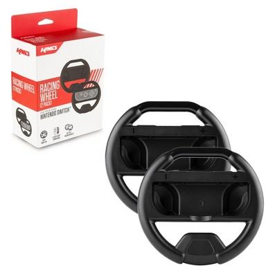KMD Joy-Con Racing Wheels Dual Pack - Black